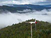 林海森林风力发电风机