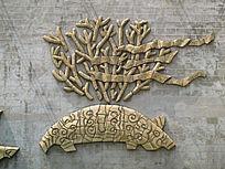 文化墙蒙古族雕刻