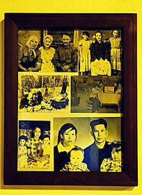 华俄后裔室内摆设相框相片