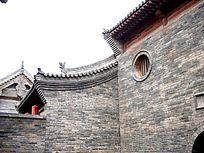 山西平遥古城的建筑局部