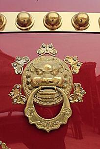 狮子造型门环