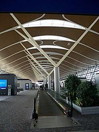 上海浦东机场航站楼