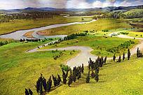 新石器时期人类生活场景