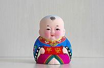 彩绘泥塑娃娃