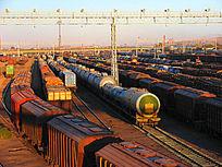 满洲里 国际货运列车