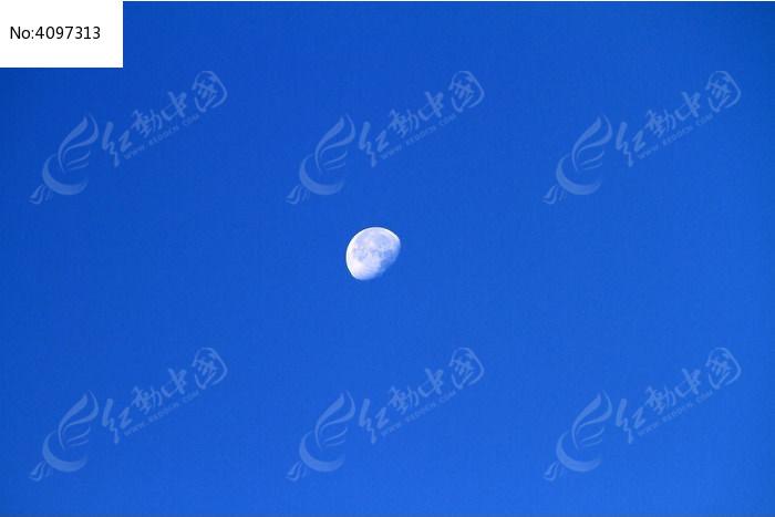 月亮图片,高清大图_天空云彩素材