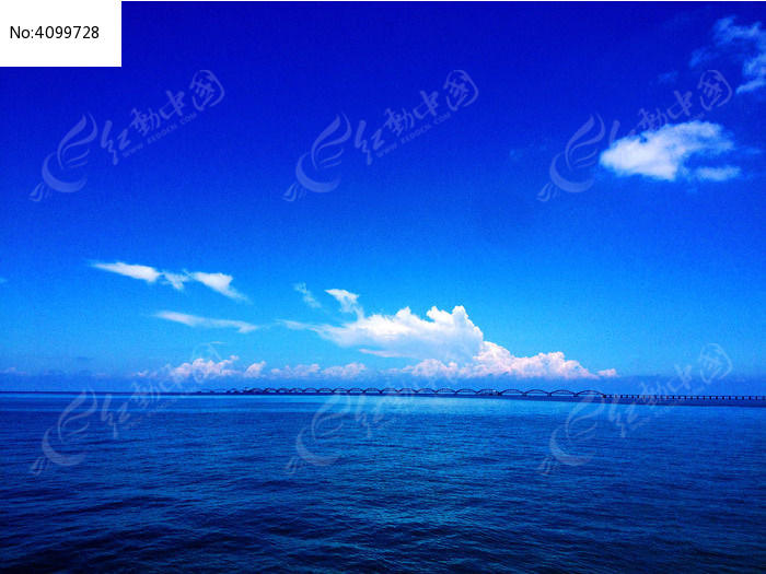 涠洲岛蓝桥图片,高清大图_海洋沙滩素材