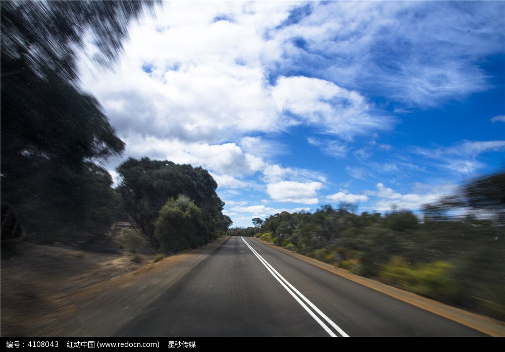 澳洲自驾游公路沿途风景
