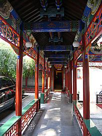 北京竹园 古典式建筑