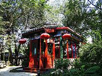 北京竹园 京味古典建筑