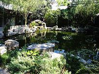 北京竹园袖珍湖泊