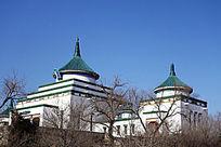 成吉思汗庙民族建筑