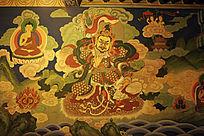 呼和浩特大召三绝之一壁画