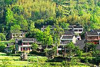 湖南省怀化 山林里的村庄
