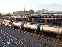 进口原油列车