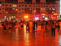 满洲里广场夜市