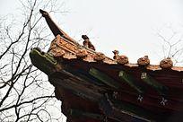 寺庙古建筑飞檐