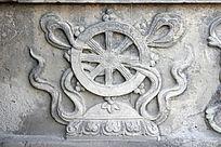 五塔寺精美的佛教法器形象图案