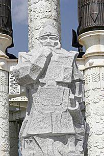 博尔忽的雕像