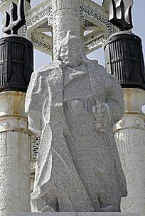 博尔术的雕像