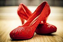 婚礼高跟女鞋红鞋
