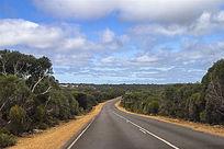 迷人的澳洲袋鼠岛热带公路