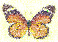 欧美蝴蝶油画