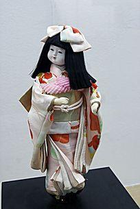 日本偶人展览之市松偶人