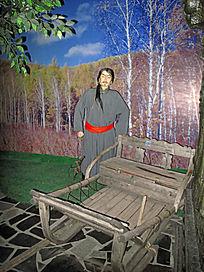通古斯鄂温克民族的雪橇