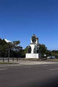西方城市景观雕塑