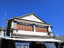 云南大理 白族民居建筑