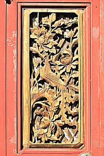 白族民居木雕画