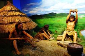 哈克先民在石器时代