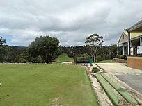 户外高尔夫球场