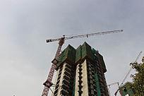 建设中的高楼大厦