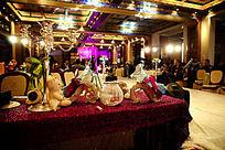 酒店喜宴婚礼现场摆设布置