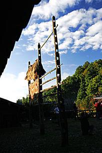 丽江玉水寨景区民族建筑