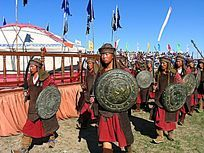 蒙古族武士