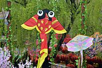 泡眼金鱼彩绘帛鸢