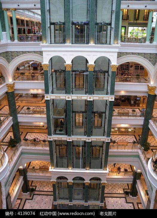 上海大图港直升中线高清通道,电梯环球_字体中cad标注商业宽修改图片图片