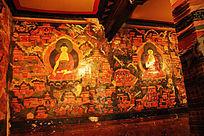 五当召佛教画卷