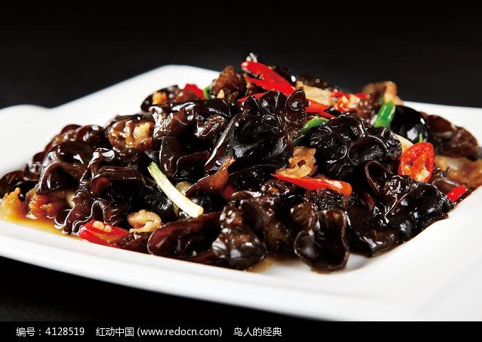 小炒黑木耳图片_中华美食图片图片
