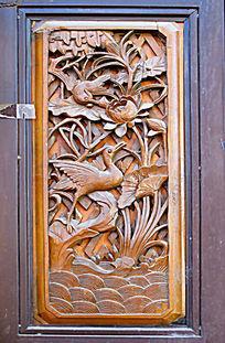 云南大理 白族门窗木雕画