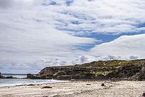 澳洲袋鼠岛海岛边上的海狮