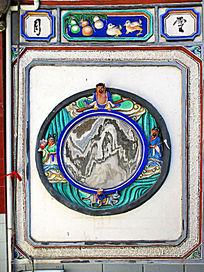 白族民居传统泥塑装饰