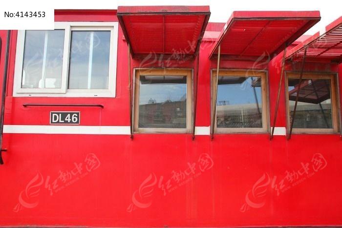 北京胡同小火车窗户