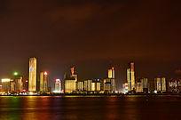 赣江红谷滩夜景