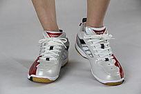 光滑的鞋子