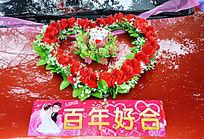 婚车玫瑰花