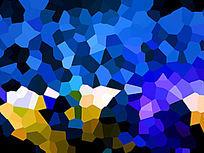 蓝色素材背景